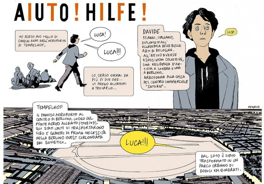 graphic novel a Berlino
